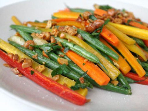 Vegetales salteados con Bite'm